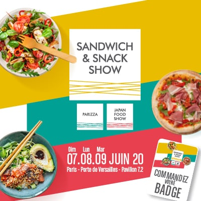 salon sandwich snack show